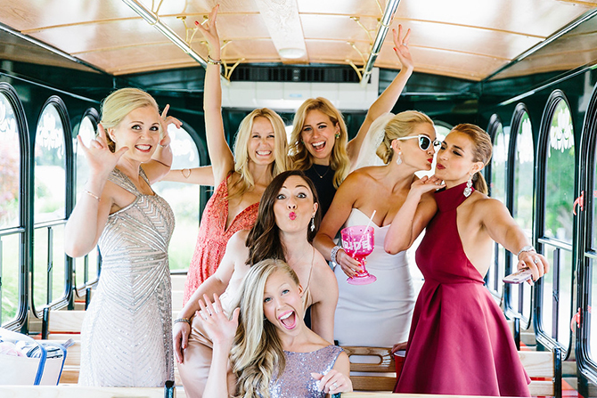 bridal party newport hair salon